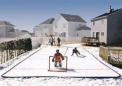 backyard ice rink from Ice n Go