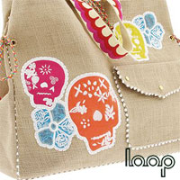 Loop Design Handbag Skull