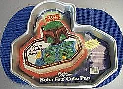Boba Fett cake pan