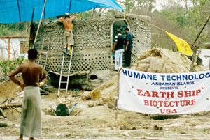 Earthship Tsunami Relief