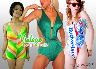 Vintage Swimsuits from eBay and Etsy