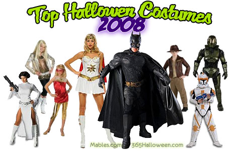 2008 Top Halloween Costumes