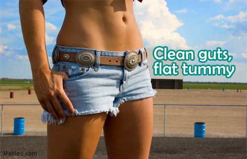quick flat tummy cleanse