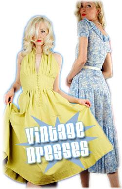 vintage dresses by viloetville