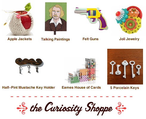 the curiosity shoppe online store