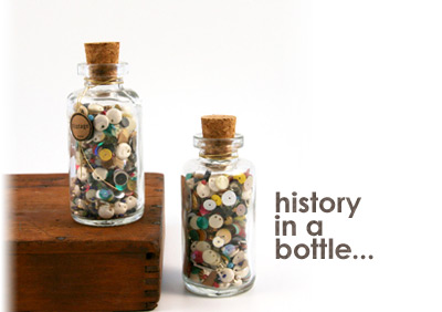 history in a bottle
