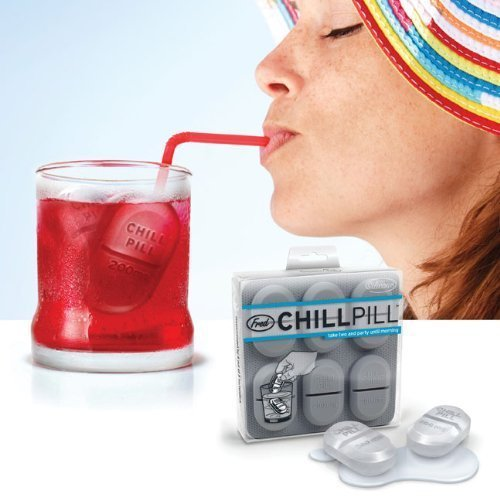 awesome chill pill ice cube tray