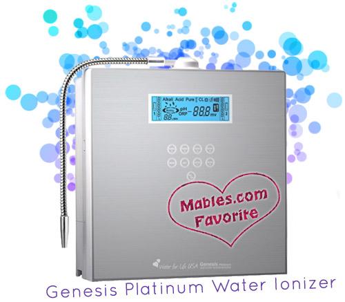 genesis platinum water ionizer sale