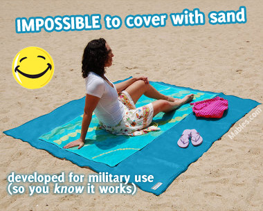sandless towel for awesome beach fun