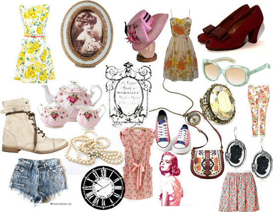 vintage fashion roundup
