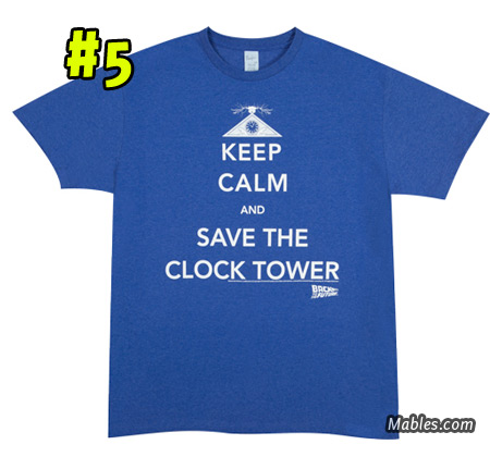 Keep Calm and Save The Clock Tower shirt