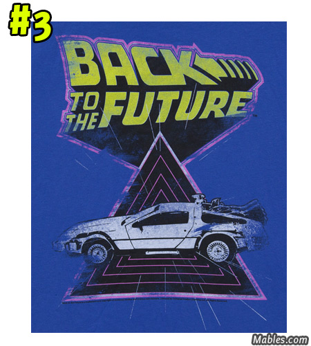 Triangle Delorean shirt