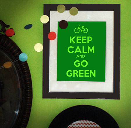 Go Green: New Years Resolutions