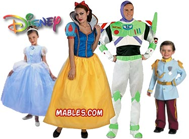 Disney costume, Disney Halloween costume