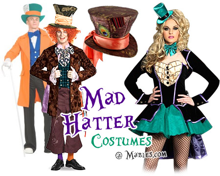 Mad Hatter Costume  sc 1 st  Mableu0027s & Mad Hatter Costume Ideas: Johnny Depp Mad Hatter u0026 Classic Mad Hatter