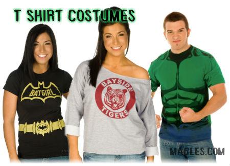 t-shirt costumes