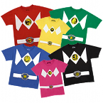 Power Rangers Costume T Shirt