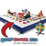 Twister Game Inflatable Gameboard