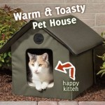 Cat House with Heater