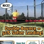 Trampoline with Shock Absorption