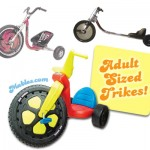 Adult Trike and Big Wheel
