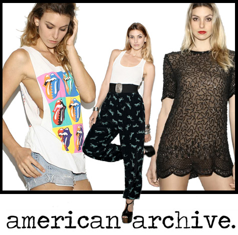 American Archive Vintage Clothing Shop