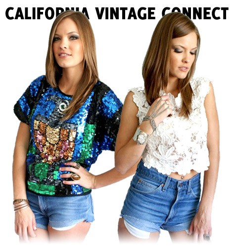vintage fashion from California Vintage Connect