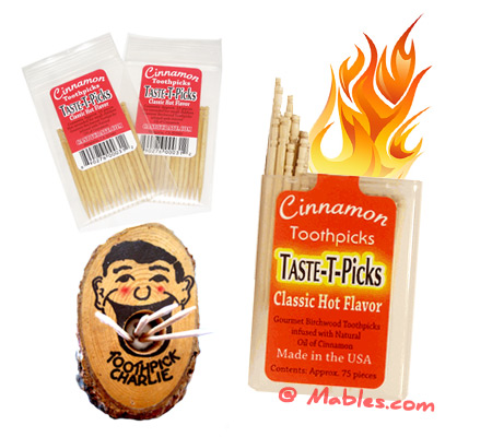 Natural Cinnamon Toothpicks