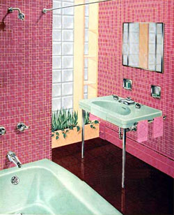 Vintage Bathroom- vintage tubs & bathroom decor ideas