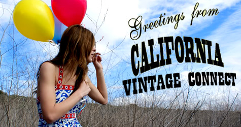 vintage clothes from California Vintage Connect