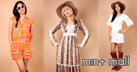 vintage clothes from the mint mall