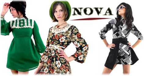vintage clothes from Nova Vintage