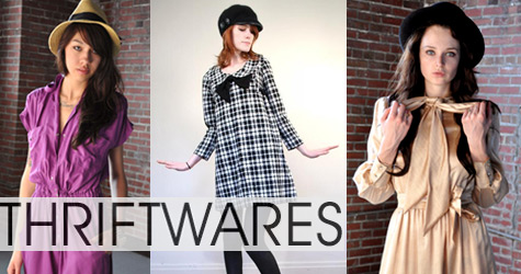 vintage clothes from thriftwares