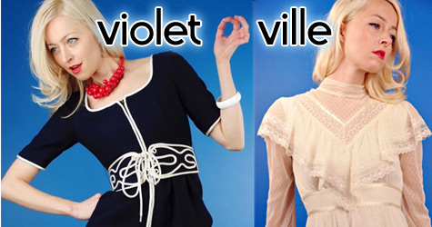 vintage clothes from Violetville Vintage
