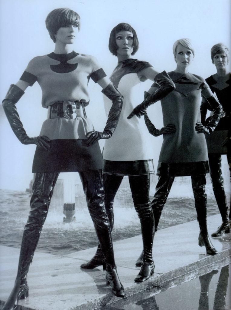 shining futuristic fashion